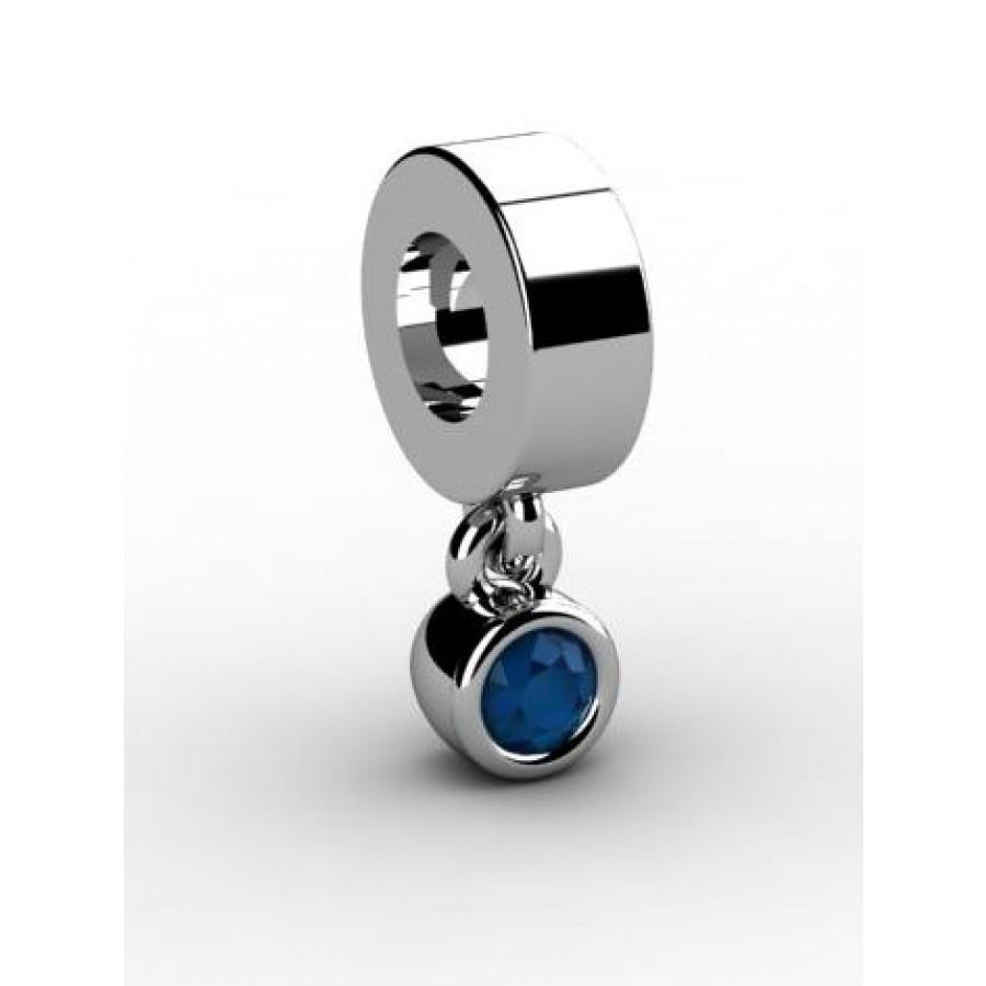 Zawieszka srebrna CHR-003-MON