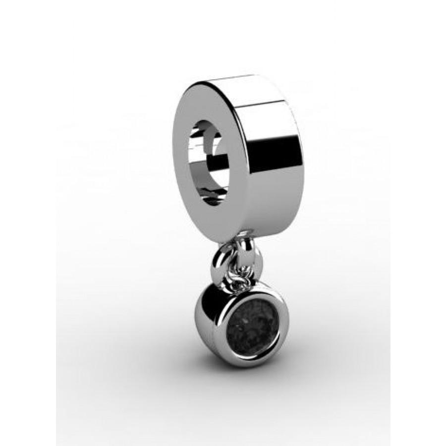 Zawieszka srebrna CHR-003-JET