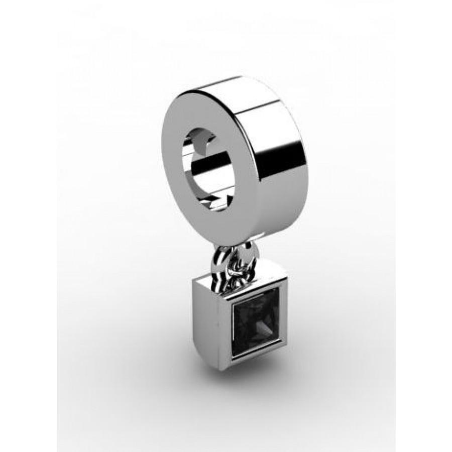Zawieszka srebrna CHR-005-JET