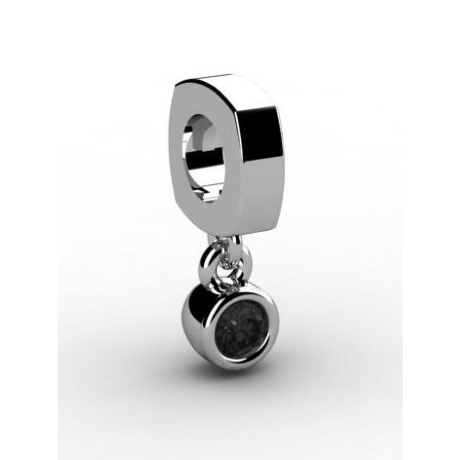 Zawieszka srebrna CHR-008-JET