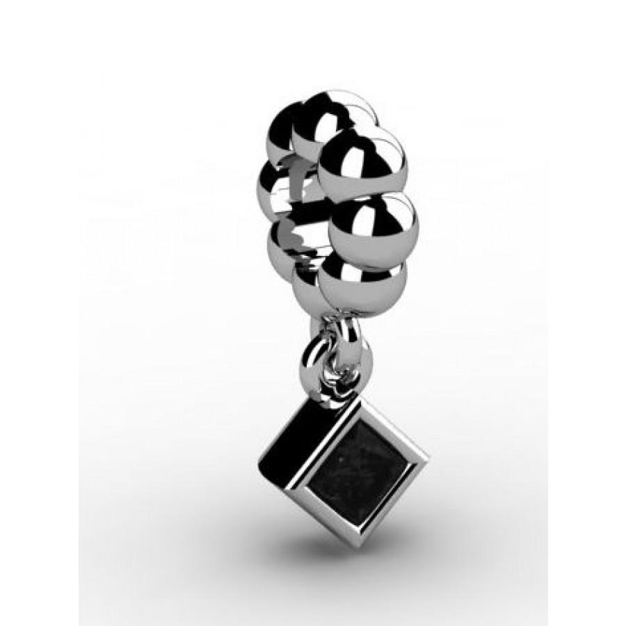 Zawieszka srebrna CHR-014-JET