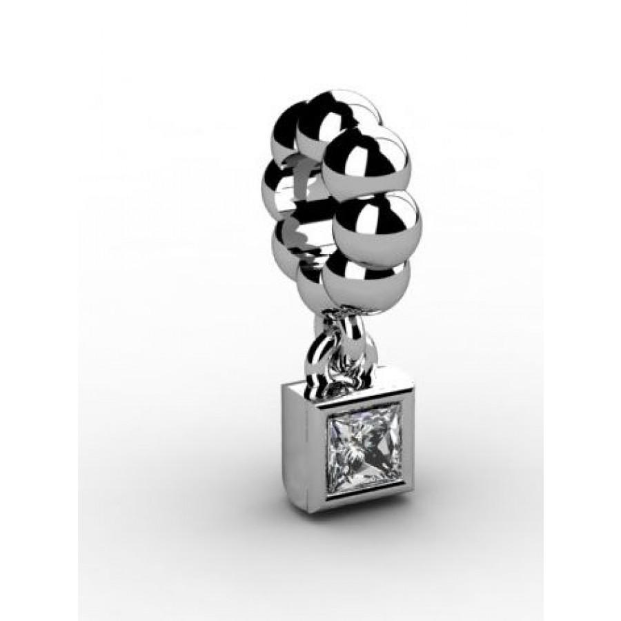 Zawieszka srebrna CHR-015-CRIS