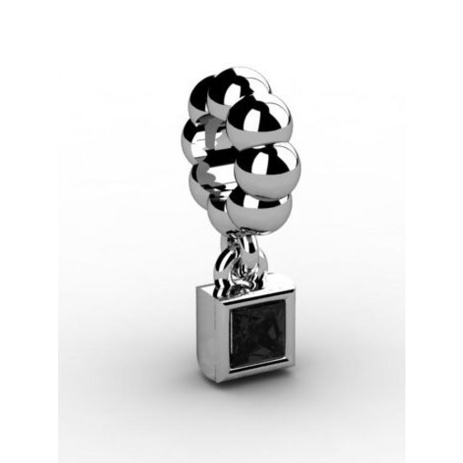 Zawieszka srebrna CHR-015-JET
