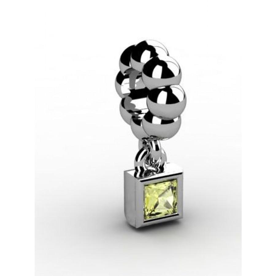 Zawieszka srebrna CHR-015-JON