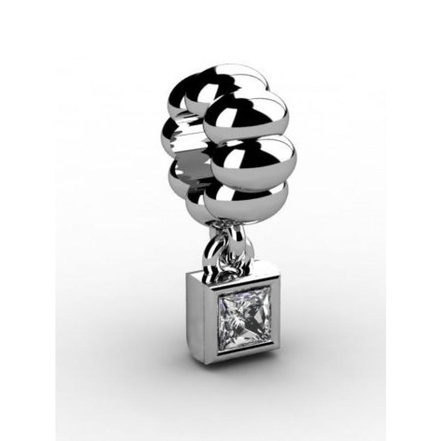 Zawieszka srebrna CHR-017-CRIS