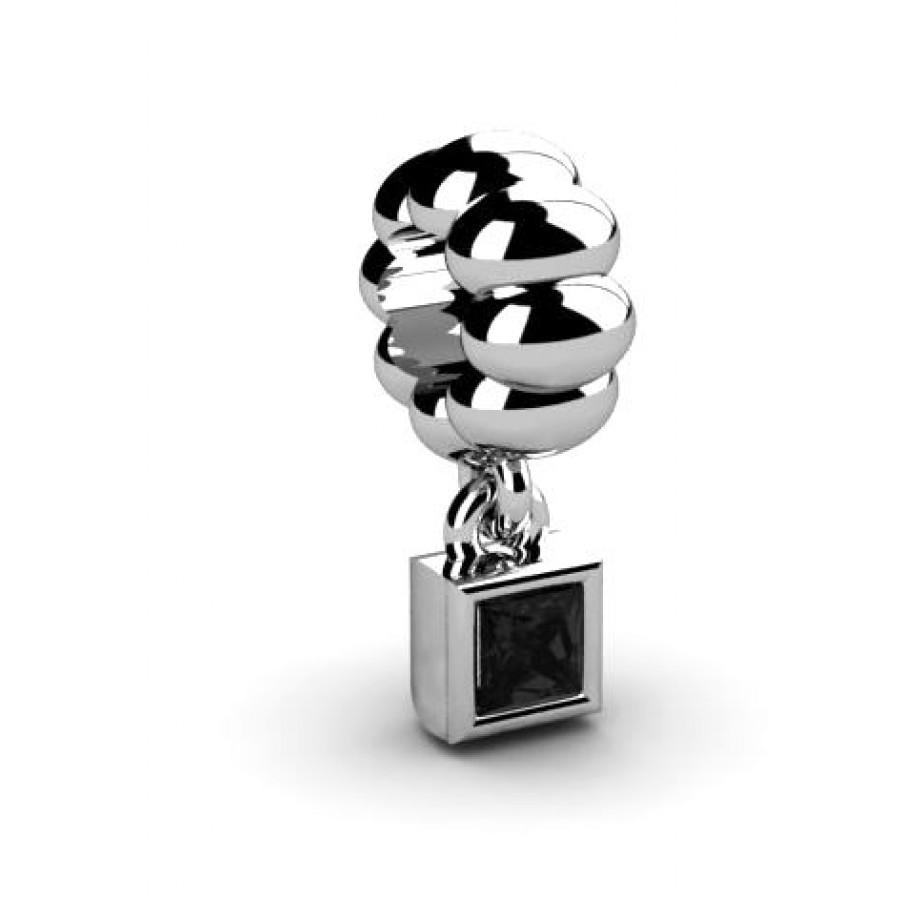 Zawieszka srebrna CHR-017-JET