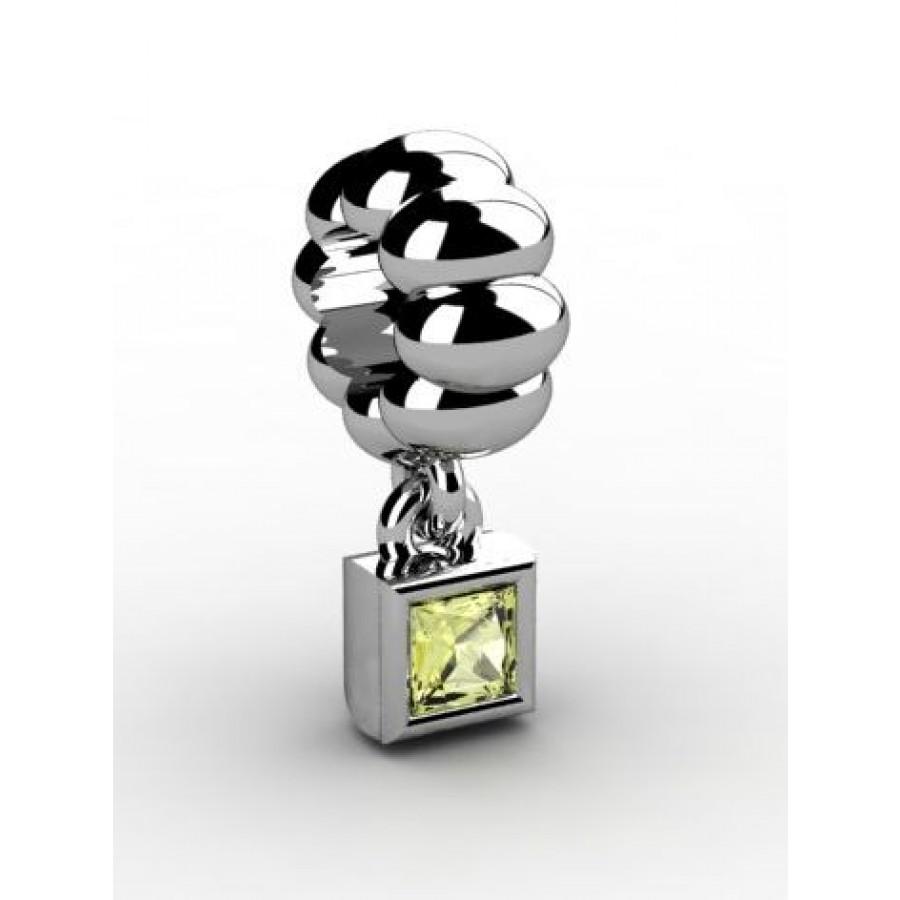Zawieszka srebrna CHR-017-JON
