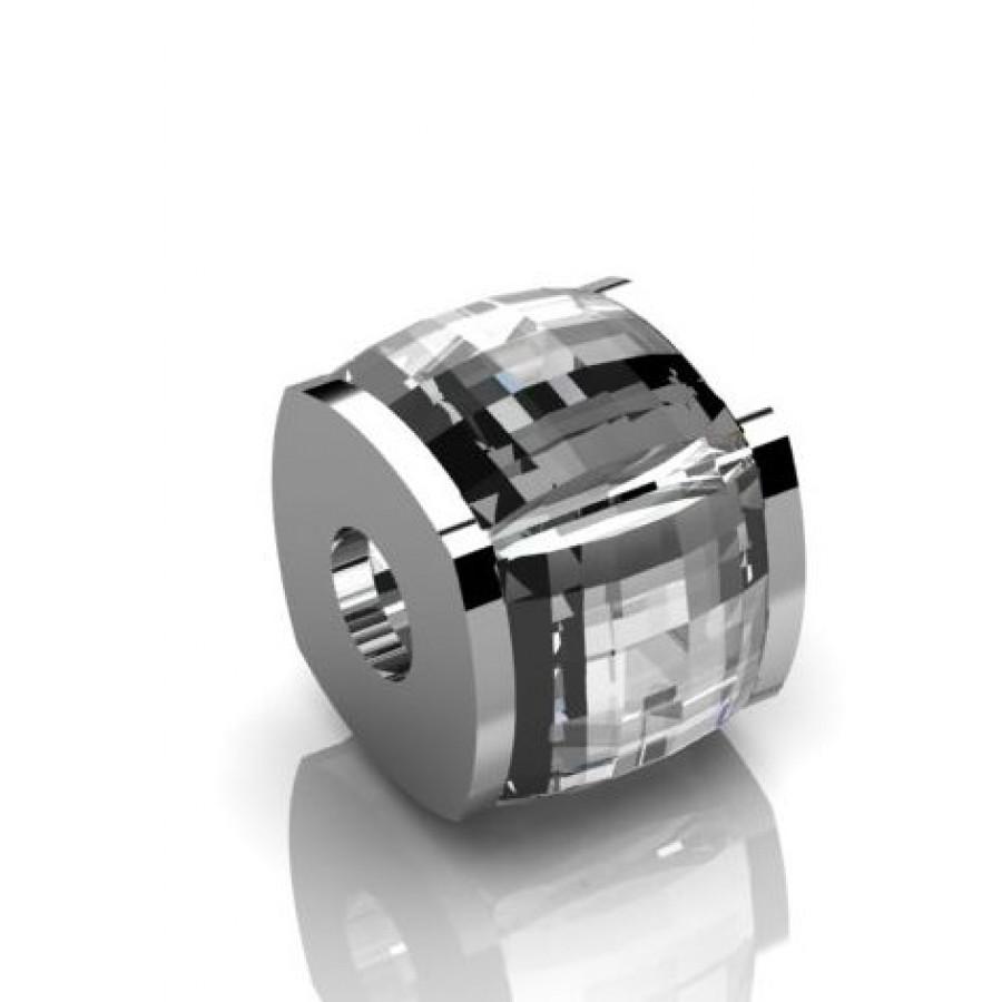 Zawieszka srebrna KAM-011-CRIS