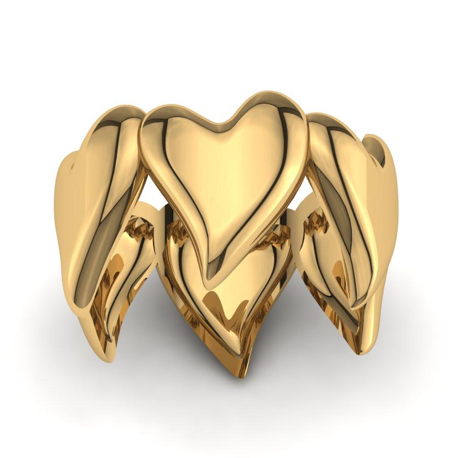 Złoty pierścionek PZ-189