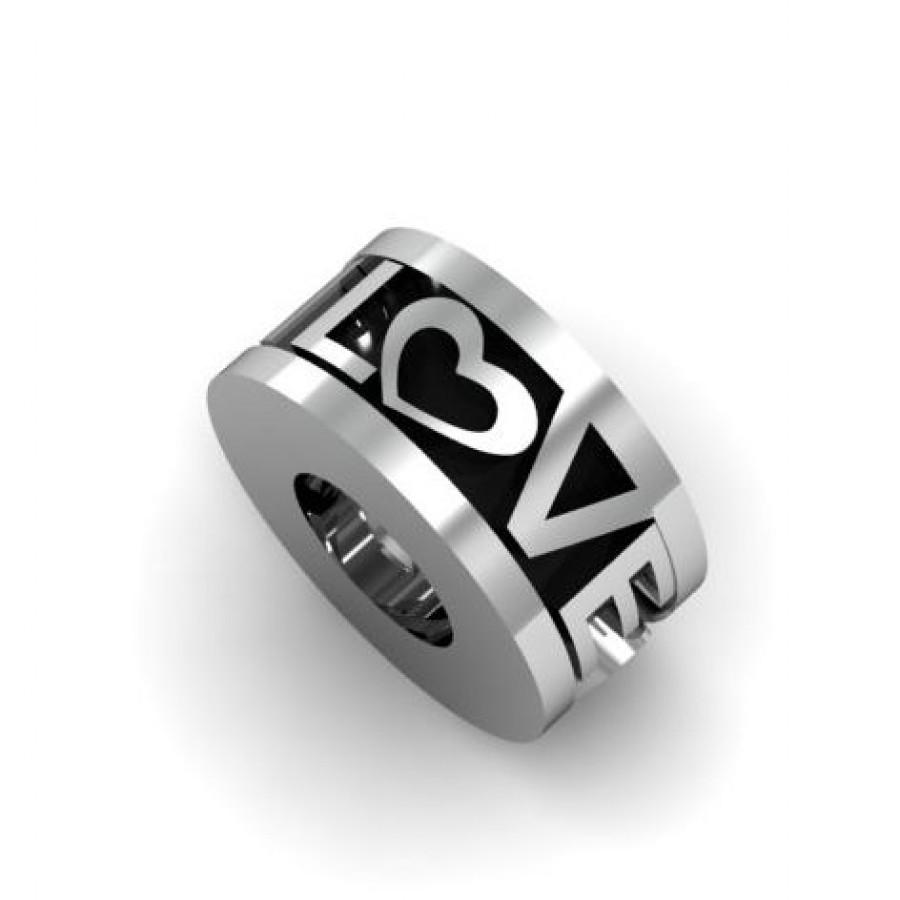 Zawieszka srebrna PLO-003 Love