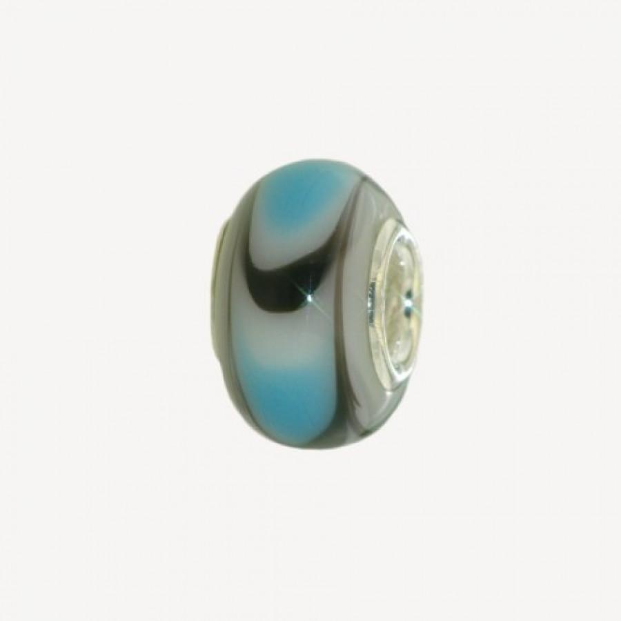 Szklany koralik modułowy SZ-6172-9
