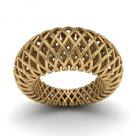 Złoty pierścionek PZ-174
