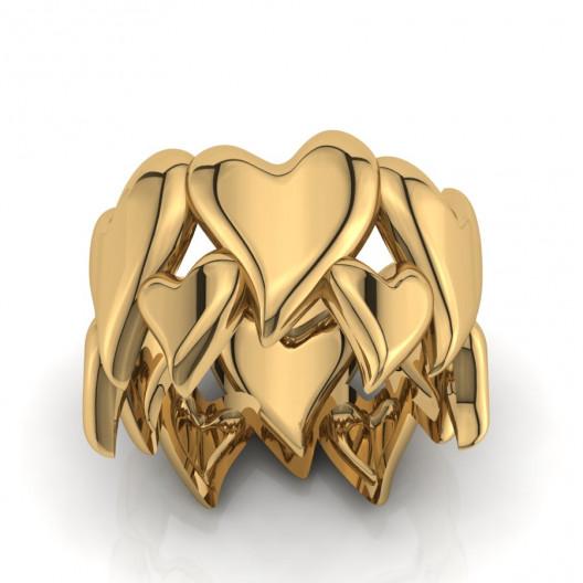 Złoty pierścionek PZ-190